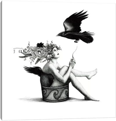 The Will To Fly Canvas Art Print