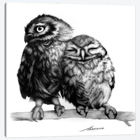 Cuddles Canvas Print #XAN49} by Anastasia Alexandrin Canvas Print
