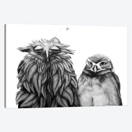 Odd Couple Canvas Print #XAN52} by Anastasia Alexandrin Canvas Wall Art