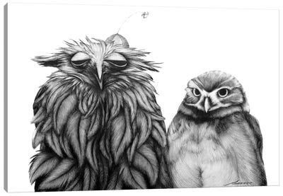 Odd Couple Canvas Art Print