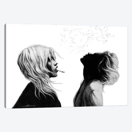 Silent Smoke Canvas Print #XAN54} by Anastasia Alexandrin Canvas Art Print