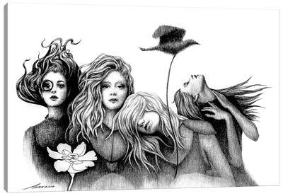 Strange Garden Canvas Art Print