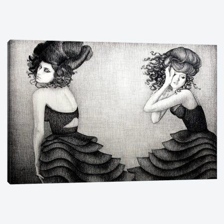 Beauty Flow 3-Piece Canvas #XAN5} by Anastasia Alexandrin Canvas Print
