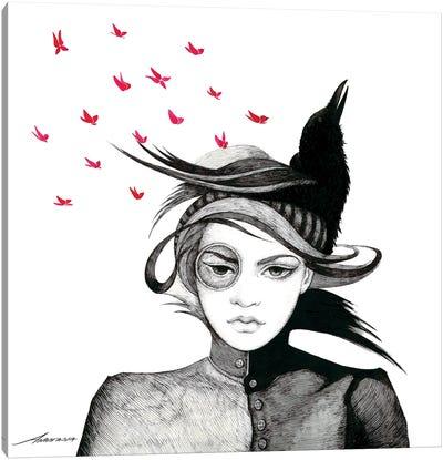 Yvette Canvas Art Print