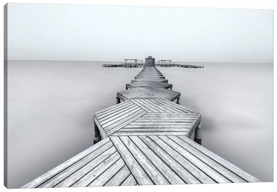 The Pier Canvas Art Print