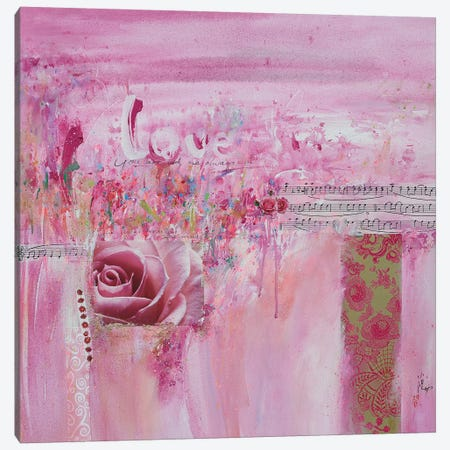 Love Canvas Print #XIG41} by Xiaoyang Galas Canvas Art Print