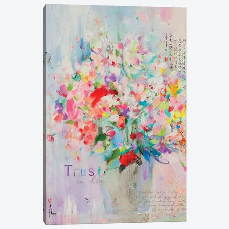 Trust In Him Canvas Print #XIG51} by Xiaoyang Galas Canvas Art