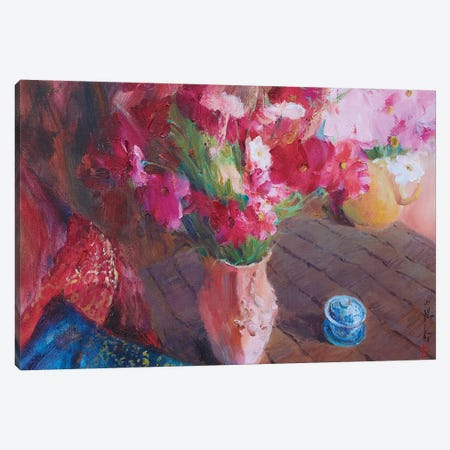 Waiting For Love Canvas Print #XIG52} by Xiaoyang Galas Canvas Artwork