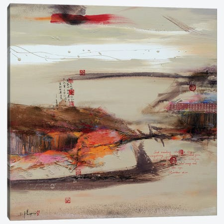 Another World I 3-Piece Canvas #XIG6} by Xiaoyang Galas Canvas Art