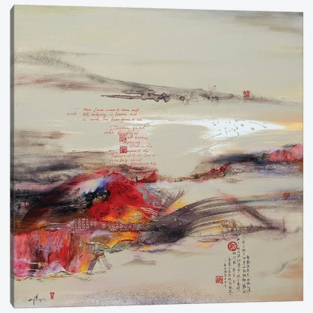 Another World II 3-Piece Canvas #XIG7} by Xiaoyang Galas Canvas Wall Art