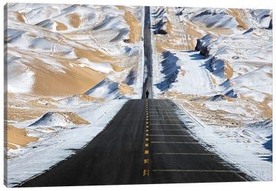 Sky Road Canvas Art Print