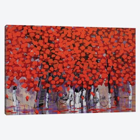 Season Of Orange Leaves II Canvas Print #XKN18} by Xuan Khanh Nguyen Canvas Artwork