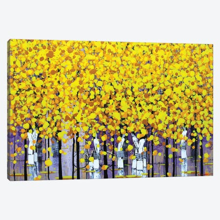 Sunny Autumn I Canvas Print #XKN26} by Xuan Khanh Nguyen Canvas Artwork