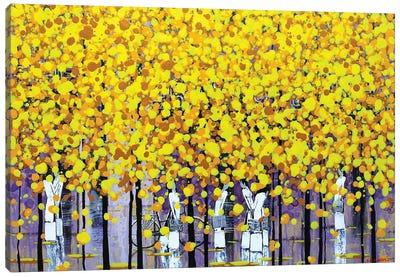Sunny Autumn I Canvas Art Print