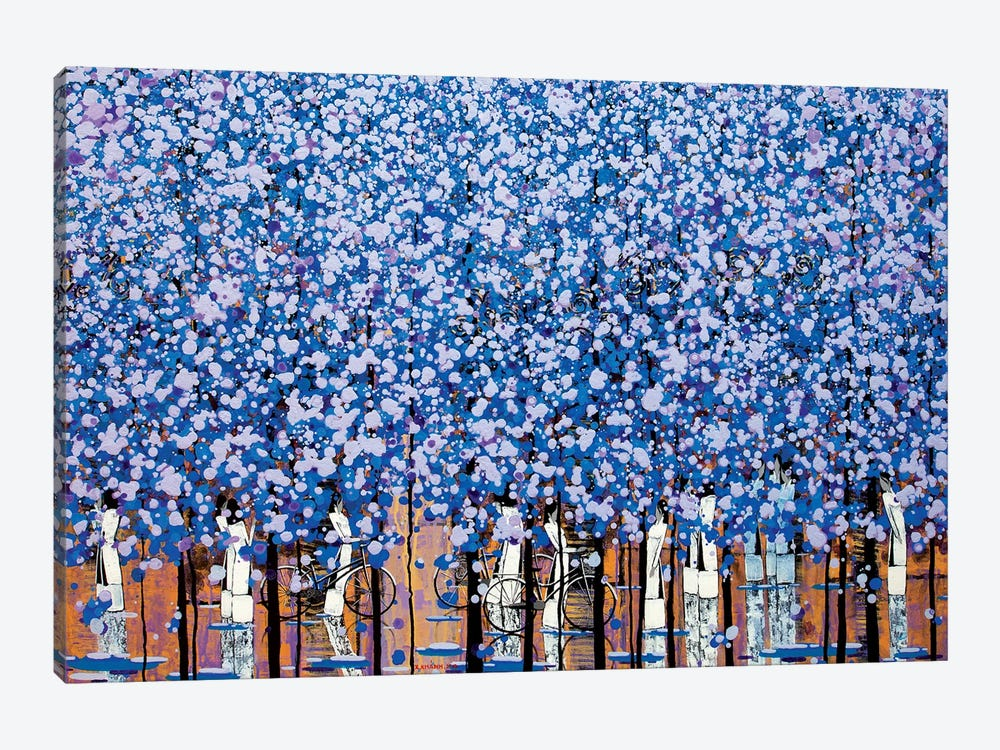 Winter Morning III by Xuan Khanh Nguyen 1-piece Canvas Art Print