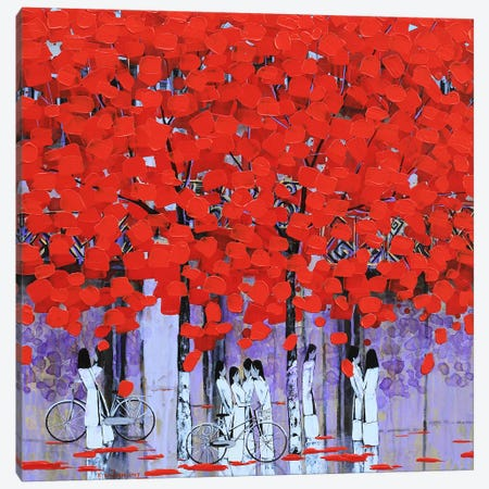 After School III Canvas Print #XKN34} by Xuan Khanh Nguyen Art Print