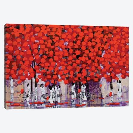 Season Of Orange Leaves I Canvas Print #XKN44} by Xuan Khanh Nguyen Canvas Artwork