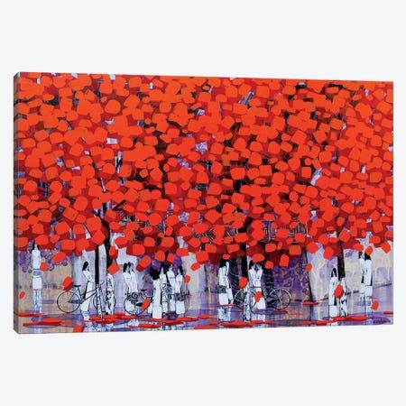 Season Of Orange Leaves I-II Canvas Print #XKN45} by Xuan Khanh Nguyen Canvas Artwork