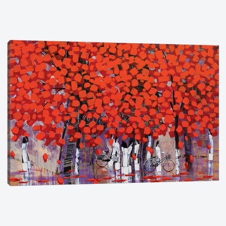 Season Of Orange Leaves II Canvas Print #XKN46} by Xuan Khanh Nguyen Canvas Art