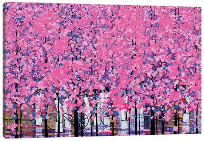 Spring V Canvas Art Print