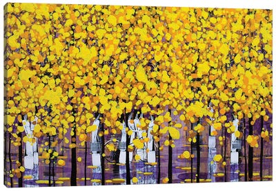 Sunny Autumn III Canvas Art Print