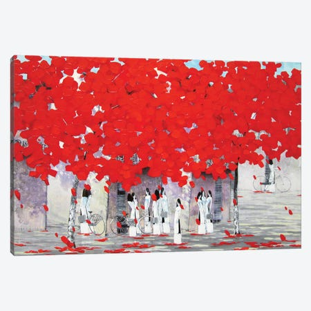 Summer Canvas Print #XKN65} by Xuan Khanh Nguyen Canvas Art
