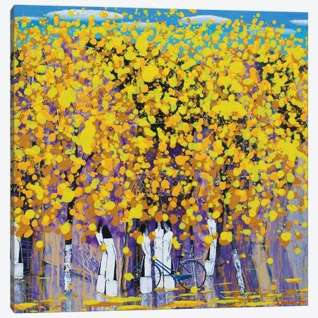 Autumn Wind Canvas Print #XKN68} by Xuan Khanh Nguyen Art Print