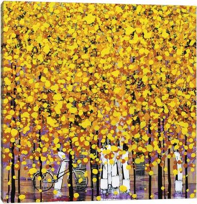 Color Of Autumn Canvas Art Print