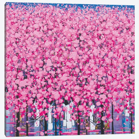 Spring Song 2 Canvas Print #XKN71} by Xuan Khanh Nguyen Canvas Art
