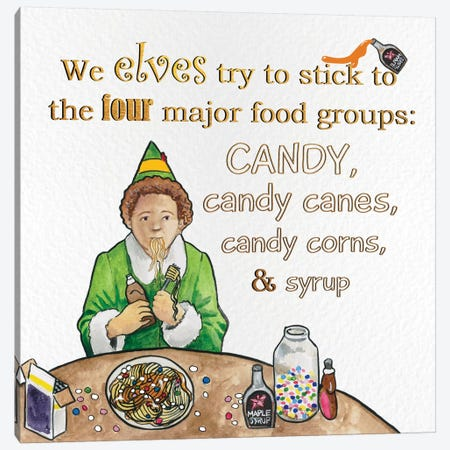 Candy Groups Canvas Print #XMS1} by 5by5collective Canvas Wall Art