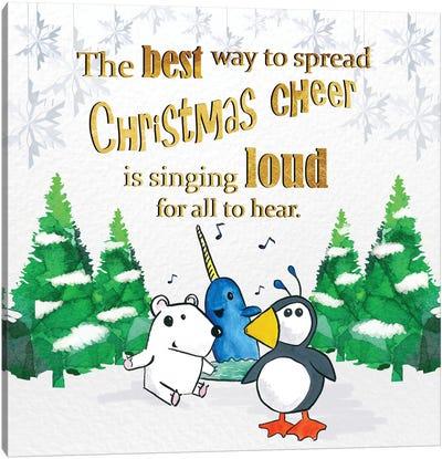 Christmas Cheer Canvas Print #XMS2