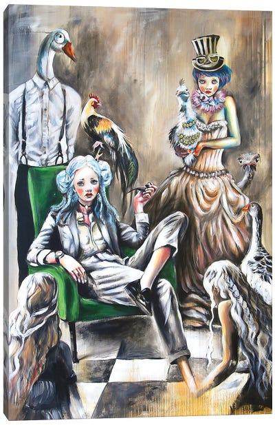 Family Portrait Canvas Art Print