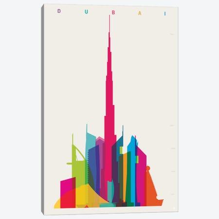 Dubai Canvas Print #YAL100} by Yoni Alter Canvas Art Print