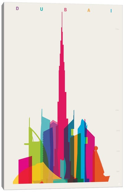 Dubai Canvas Art Print