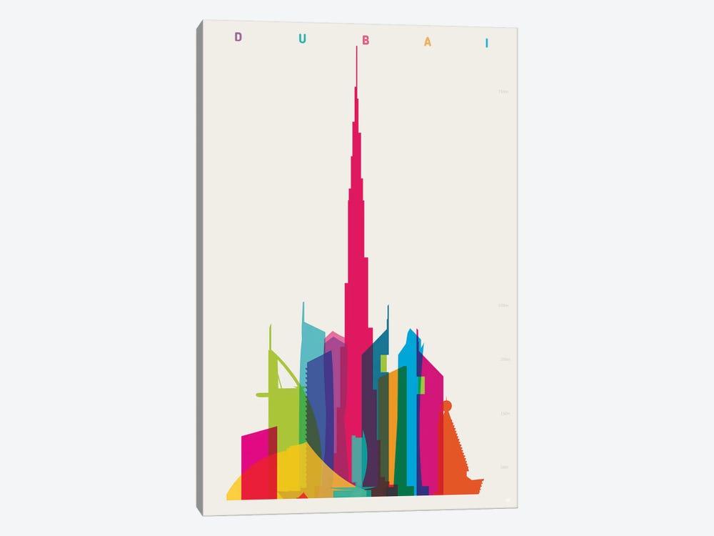 Dubai by Yoni Alter 1-piece Canvas Art Print