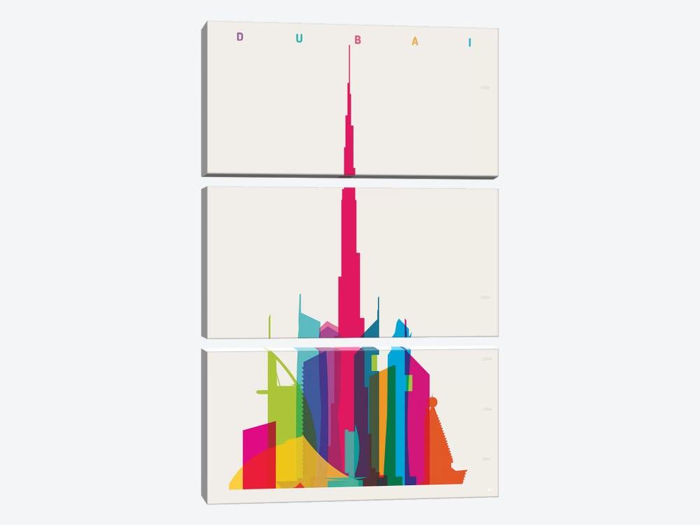 Dubai by Yoni Alter 3-piece Canvas Print