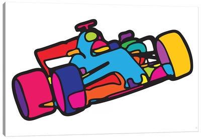 F1 Canvas Art Print