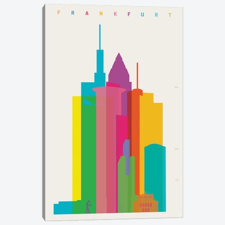 Frankfurt Canvas Print #YAL102} by Yoni Alter Art Print