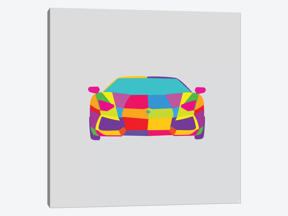 Lambo by Yoni Alter 1-piece Canvas Art