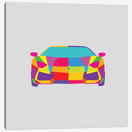Lambo Canvas Print #YAL105} by Yoni Alter Canvas Wall Art