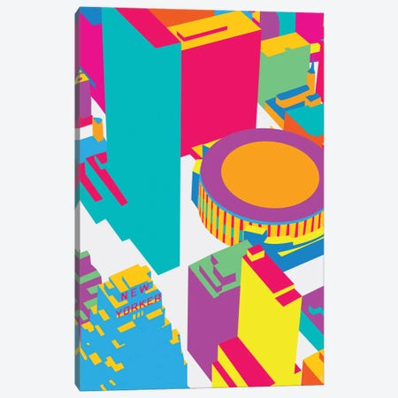 Madison Square Garden Canvas Print #YAL107} by Yoni Alter Canvas Art
