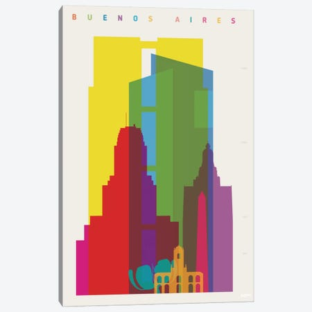 Buenos Aires Canvas Print #YAL10} by Yoni Alter Canvas Wall Art
