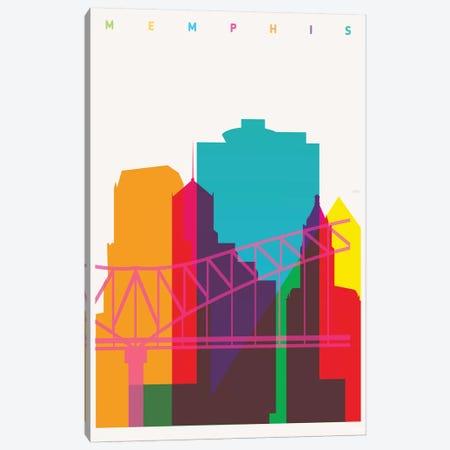 Memphis Canvas Print #YAL110} by Yoni Alter Canvas Artwork