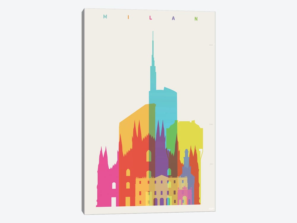 Milan 1-piece Canvas Print