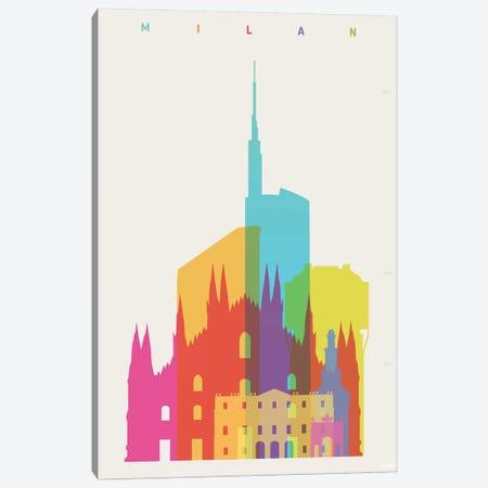 Milan Canvas Print #YAL111} by Yoni Alter Canvas Artwork
