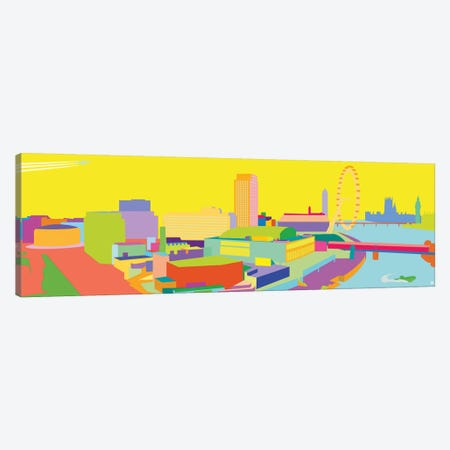 South Bank Canvas Print #YAL118} by Yoni Alter Canvas Artwork