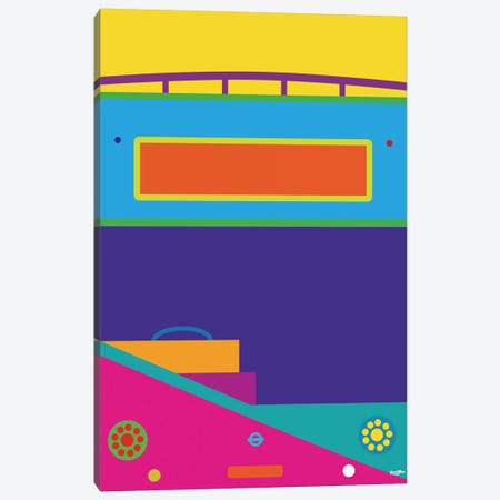 Bus Canvas Print #YAL12} by Yoni Alter Canvas Wall Art