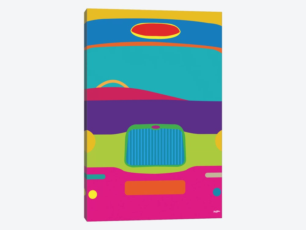 Cab by Yoni Alter 1-piece Canvas Artwork