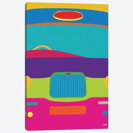 Cab Canvas Print #YAL13} by Yoni Alter Canvas Wall Art