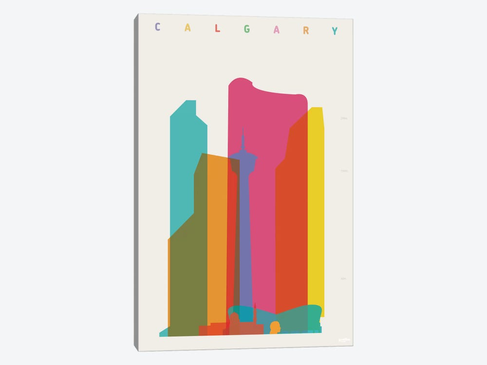 Calgary by Yoni Alter 1-piece Art Print